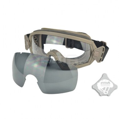 FMA - LPG01BK12-2R Regulator Goggle - Dark Earth