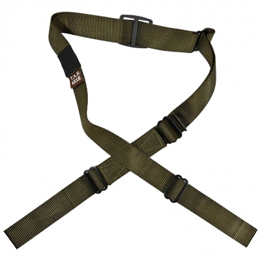 Tab Gear - CAD Rifle Sling Without Buckles-No Swivels - Olive Drab Green