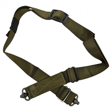Tab Gear - CAD Rifle Sling Without Buckles-QD Push Button - Olive Drab Green
