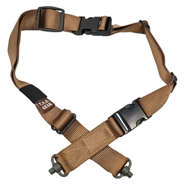Tab Gear - CAD Rifle Sling With Fastex Buckles-QD Push Button - Coyote Brown