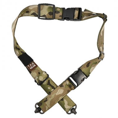 Tab Gear - CAD Rifle Sling With Fastex Buckles-QD Push Button - Multicam