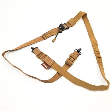 Tab Gear - Carbine Sling'' QD Push Button - Coyote Brown