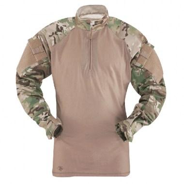 TRU-SPEC - TRU 1/4 Zip Combat Shirt - Multicam