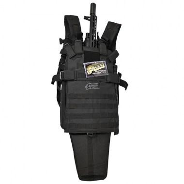 Voodoo Tactical - 15-0144 Praetorian Rifle Pack Lite - Black