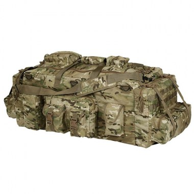 Voodoo Tactical - Mojo Load-Out Bag with Back Staps - Multicam