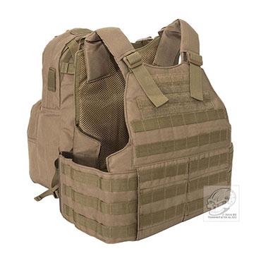 Voodoo Tactical - Hayden Plate Carrier with Assault Pack - Coyote
