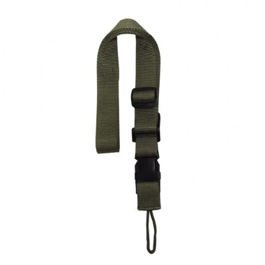 Voodoo Tactical - 20-7723 Single Point Tactical Rifle Sling - OD Green