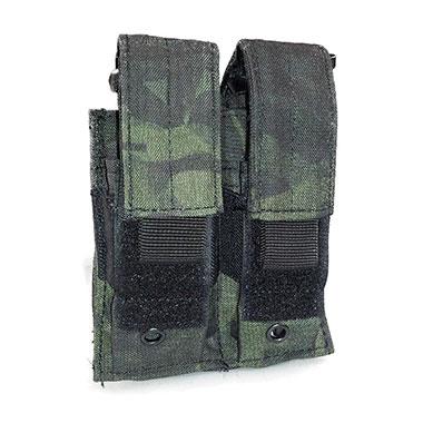 Voodoo Tactical - Pistol Mag Pouch Double - Multicam Black
