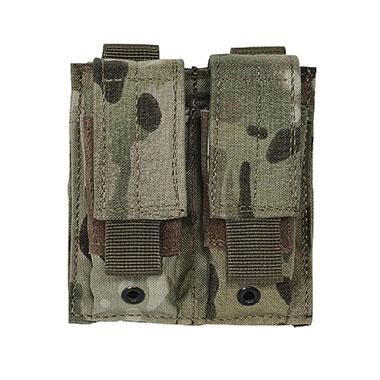 Voodoo Tactical - Pistol Mag Pouch Double - Multicam