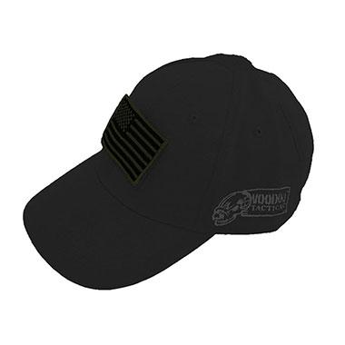 Voodoo Tactical - Caps w Velcro Patch - Black