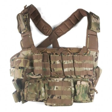 Voodoo Tactical - Tactical MOLLE Chest Rig - Multicam