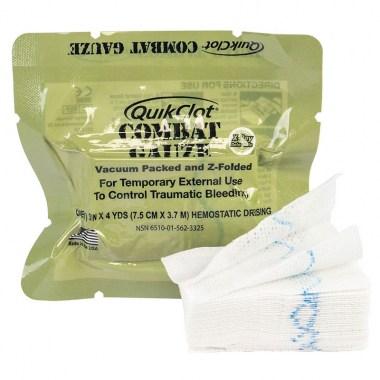 Z-Medica - Combat Gauze Z-fold Hemostatic