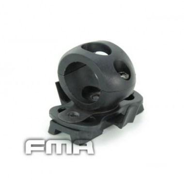 FMA - Single Clamp for 0.83' Flashlight - Black