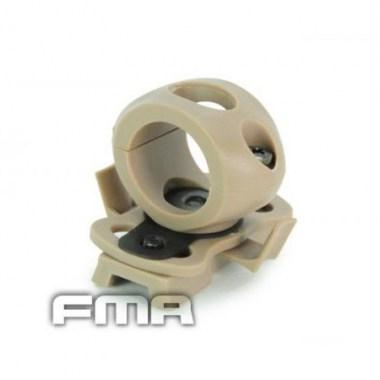 FMA - Single Clamp for 0.83' Flashlight - Dark Earth
