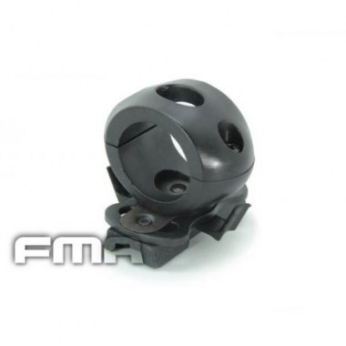 FMA - Single Clamp for 1' Flashlight - Black