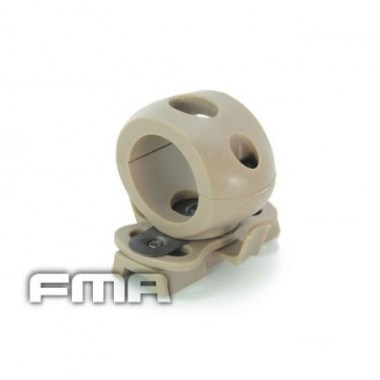 FMA - Single Clamp for 1' Flashlight - Dark Earth