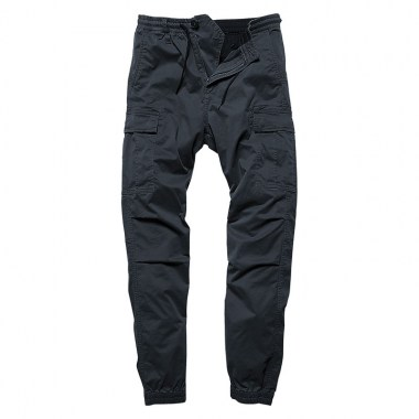 Vintage Industries - Vince cargo jogger - Navy Blue