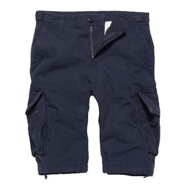 Vintage Industries - Terrance shorts - Navy Blue