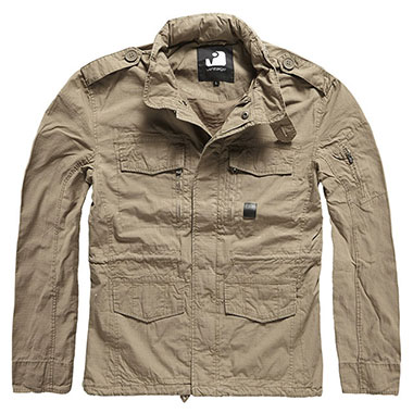 Vintage Industries - Cranford jacket - Dark Khaki