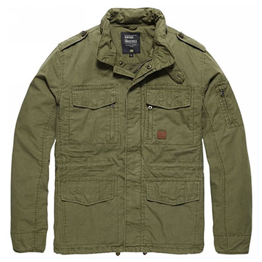 Vintage Industries - Cranford jacket - Olive Drab