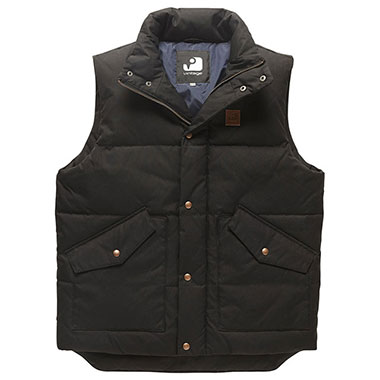 Vintage Industries - Newbury bodywarmer - Black