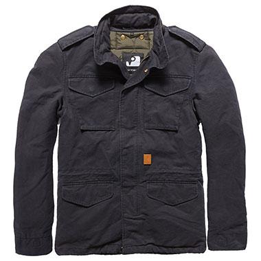 Vintage Industries - Dave M65 jacket - Off Black