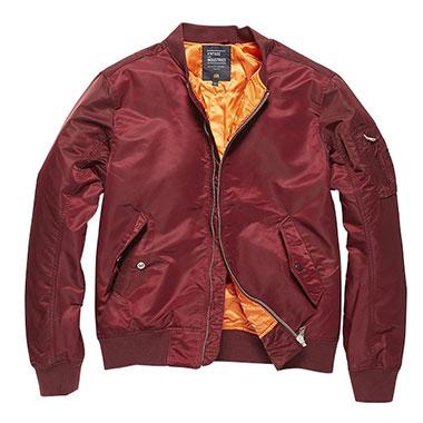Vintage Industries - Welder jacket - Burgundy