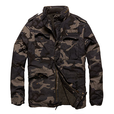 Vintage Industries - Ground parka - Dark Camo
