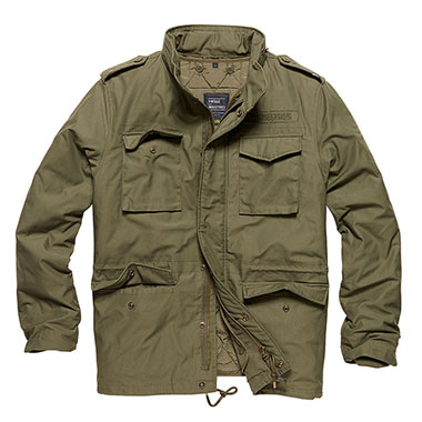 Vintage Industries - Capper parka - Olive