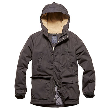 Vintage Industries - Skinner parka - Black