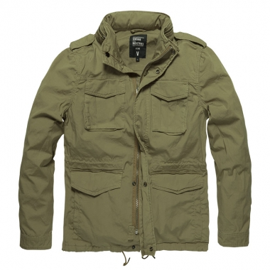 Vintage Industries - Beyden jacket - Bright Olive