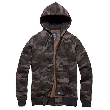 Vintage Industries - Redstone hooded sweatshirt - Dark Camo