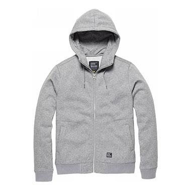 Vintage Industries - Irun hooded sweatshirt - Charcoal