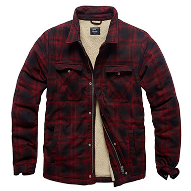 Vintage Industries - Class sherpa - Red Check