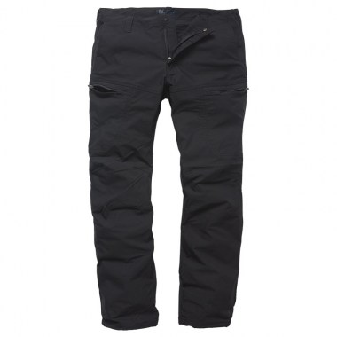 Vintage Industries - Kenny technical pants - Black