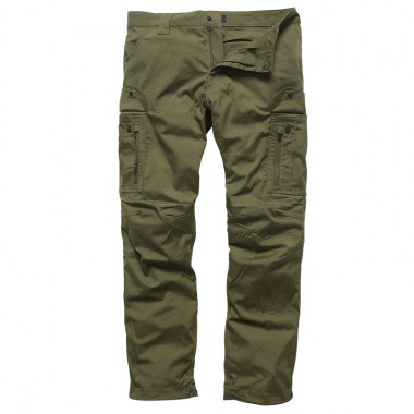 Vintage Industries - Blyth technical pants - Olive