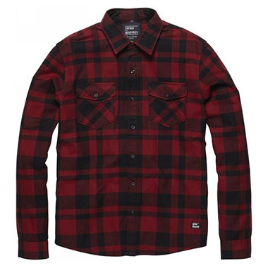 Vintage Industries - Austin shirt - Red Check