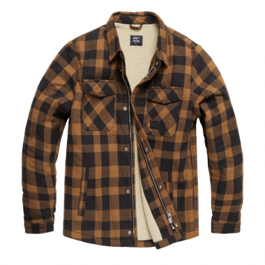 Vintage Industries - Craft heavyweight sherpa - Yellow Check