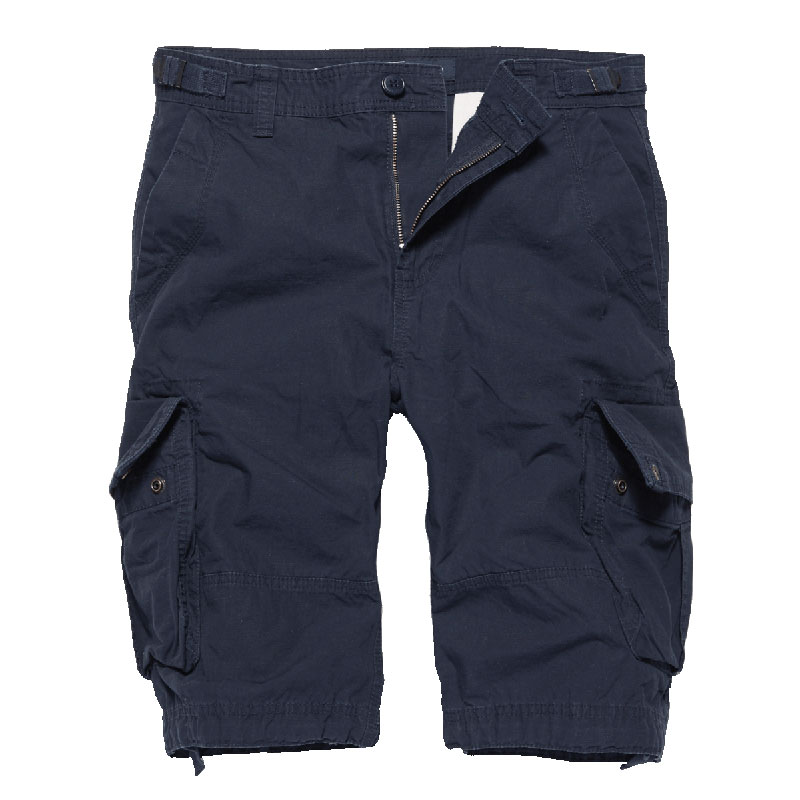 Vintage Industries - Terrance shorts - Navy Blue